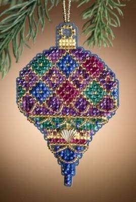 Набор для вышивки  Mill Hill Diamond Holiday