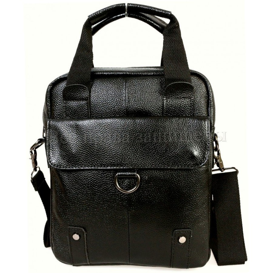 f6d7fb5ca9d3 Мужская кожаная сумка SK Leather Collection SK-1190-black - Arion-store -