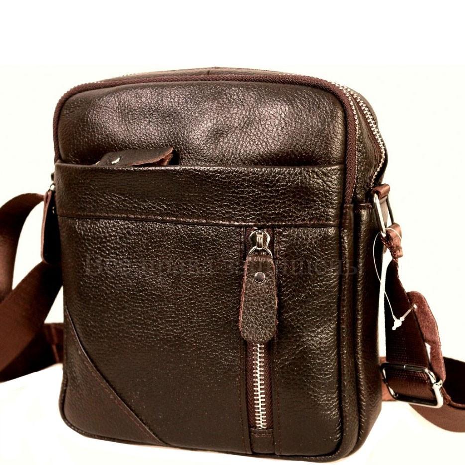 2ba07ec2330a Мужская Кожаная Сумка SK Leather Collection SK-6618Coffee — в ...