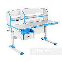 Комплект парта для подростка Sognare Blue + детское ортопедическое кресло SST9 Blue FunDesk, фото 3