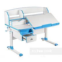 Комплект парта для подростка Sognare Blue + детское ортопедическое кресло SST9 Blue FunDesk, фото 2