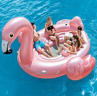 Надувной остров Intex 57267 Фламинго 422 х 373 х 185 см