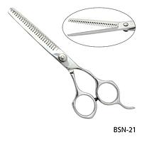 """Ножницы парикмахерские BSN-21 - для филировки, размер: 5,9""""#S/V"""