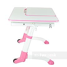 Комплект подростковая парта Amare Pink + детский стул SST3L Grey FunDesk , фото 3