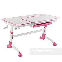 Комплект подростковая парта Amare Pink + детский стул SST3L Grey FunDesk , фото 2