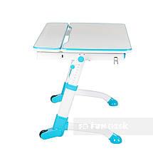 Комплект растущая парта Volare Blue + детский стул LST6 Blue FunDesk, фото 3
