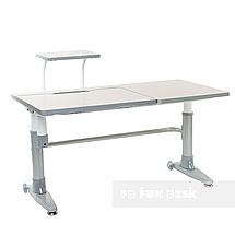 Комплект парта Ballare Grey с выдвижным ящиком + детское кресло для школьника LST1 Blue FunDesk , фото 2