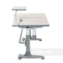 Комплект парта Ballare Grey с выдвижным ящиком + детское кресло для школьника LST1 Blue FunDesk , фото 3