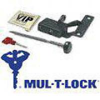 Mul-T-Lock Замки КПП механические Mul-T-Lock Замок на КПП B-VIP 345/4S 064 1RED2BLUE (Skoda Fabia 2002-2007 MAN)