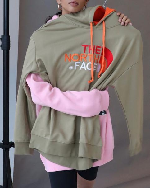 "Худи с капюшоном The North Face ""Khaki"""