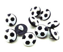 Гудзики дитячі Футбольні м'ячі