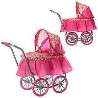 Коляска для кукол Melogo 9678 Розовый (int9678)