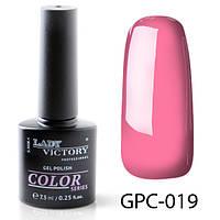 Новинка! Цветной гель-лак Lady Victory GPC-019#S/V