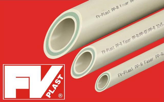 Труба ППР ПН20 FV plast FASER со стекловолокном