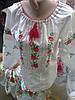 Вышиванка  для девочки  Розочка    ( C.Р.Б.)