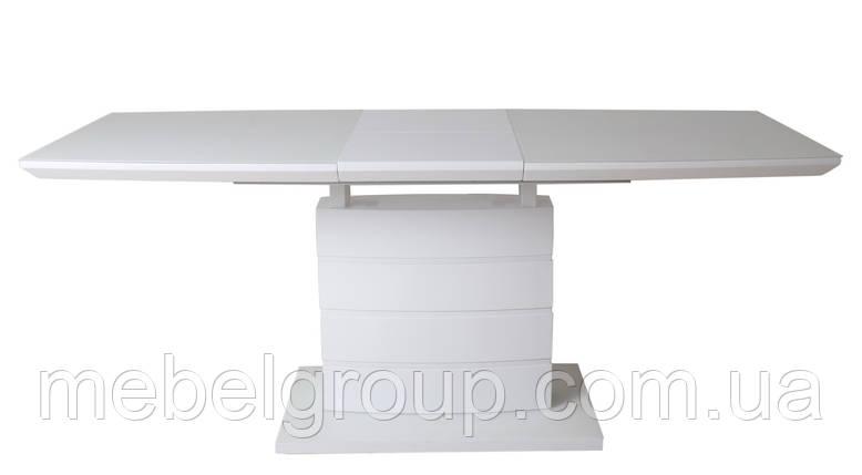 Стол ТММ-50-1 матовый белый 120/160x80, фото 2