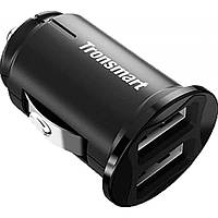 Зарядний пристрій Tronsmart C24 Dual USB Port Car Charger Black (236876)