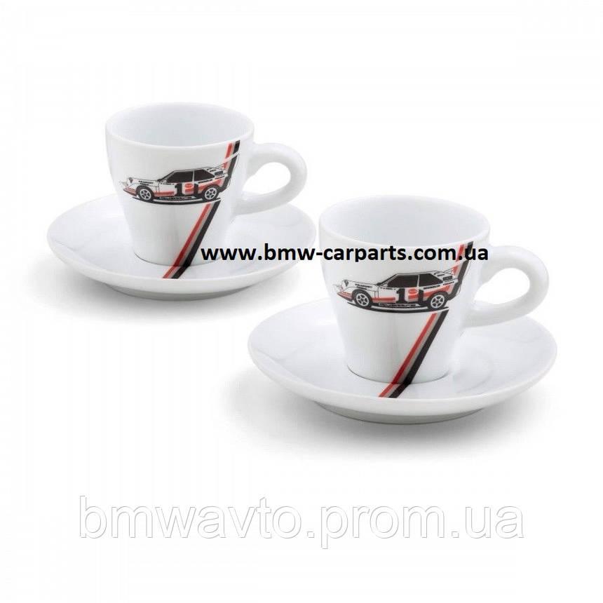 Набор чашек для эспрессо Audi Heritage Espresso Cups Set, фото 2
