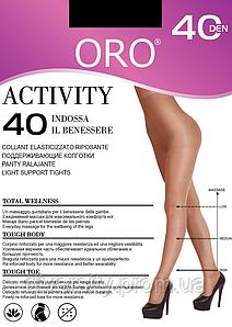 Колготки с поддерживающим эффектом Activity 40 den Oro 2-S, Nero