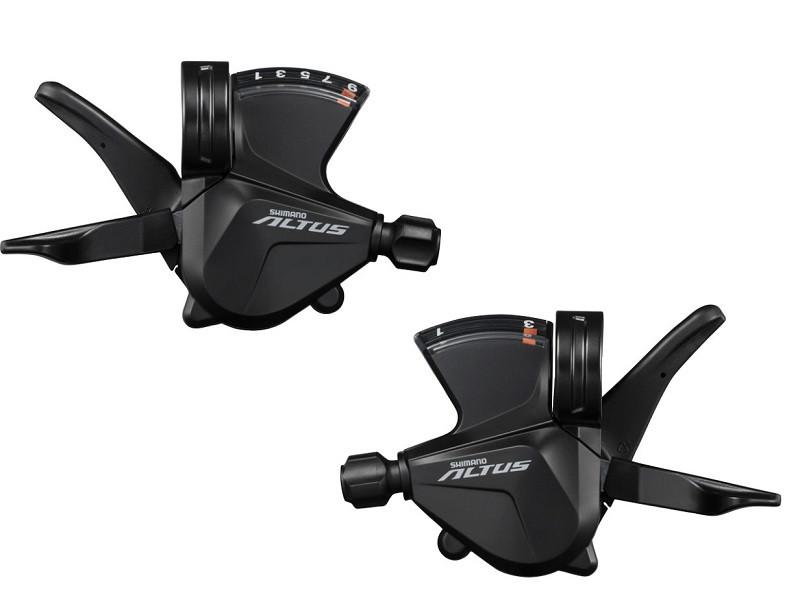 Манетки Shimano ALTUS SL-M2000, пара 3+9 швидкостей +тросики