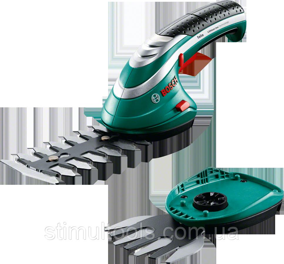 Ножницы аккумуляторные для травы и кустов Bosch Isio 3