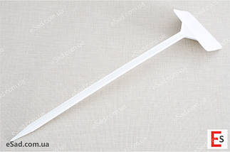 Табличка на ножке №5 белая, фото 2