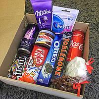 Подарочный набор Сладостей для ДЕВУШКИ / ПАРНЯ . Sweet Box Rainbow ( Сладкий бокс для подруги / друга )