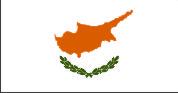 Флаг Кипра 0,9х1,5 м. шелк