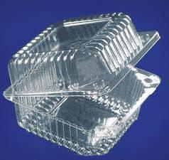 Упаковка пластиковая, квадратная Ланч-Бокс 131*131, h-83