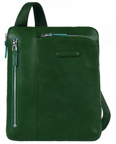 cece9ca2449d Мужская зеленая сумка Piquadro Blue Square (CA1816B2_VE4) - Arion-store -  кожгалантерея и