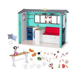 Игровой набор Our Generation Пляжный дом и аксессуары BD37860Z