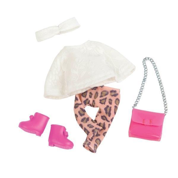 Набор одежды для кукол LORI Пончо LO30008Z