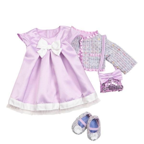 Набор одежды для кукол Our Generation Deluxe Куртка Твид с платьем BD30051Z