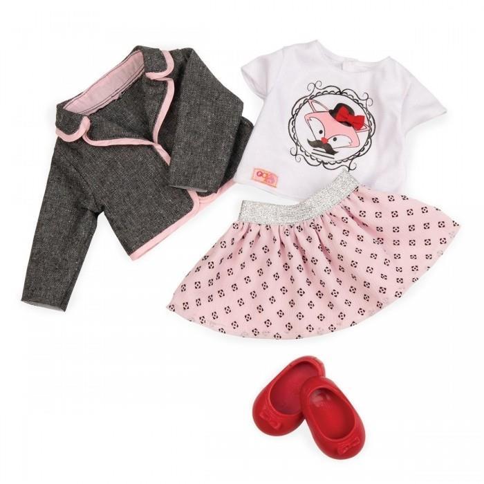 Набор одежды для кукол Our Generation Куртка с юбкой BD30117Z