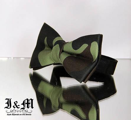 Галстук-бабочка i&m (00013) Military, фото 2