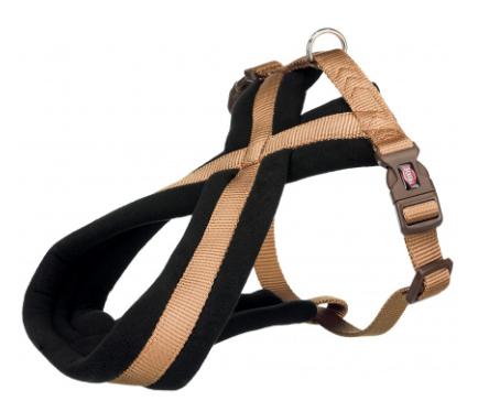 Шлея Trixie Premium Touring Harness для собак нейлоновая, 35-50 см карамель