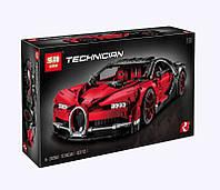 Конструктор Bugatti Chiron Бугатти Шерон красный 4031дет. Lepin 20086B (аналог Lego 42083)