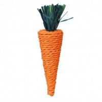 Trixie Spielzeug игрушка морковка для грызунов 20см