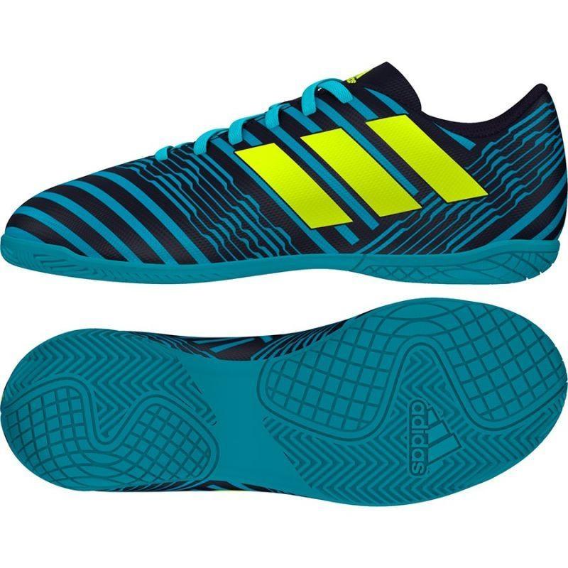 Детская футбольная обувь для зала Adidas NEMEZIZ 17.4 IN S82465, фото 1