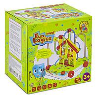 Деревянная каталка Fun Game 7368 с пальчиковым лабиринтом, фото 1