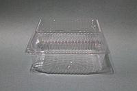 Одноразовый пищевой контейнер для еды / 13 х13 х7.5 см, фото 1