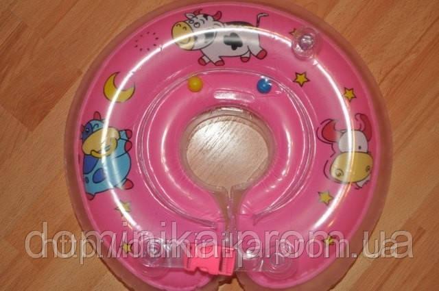 Детский надувной плавательный круг на шею, деткам от 0 до 2х лет - Товары для дома,отпариватели, аэрогрили,прокладки,товары для детей  «ДОМИНИКА» в Чернигове