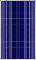 Солнечная батарея 280Вт 24Вольт RSM60-6-280P 5ВB Risen поликристалл