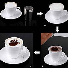 Трафареты для кофе, капучино, десертов ( 16 шт. ), фото 2