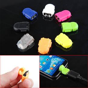 Micro USB OTG адаптер для смартфонов/планшетов (переходник между гаджетом и флешкой), фото 2