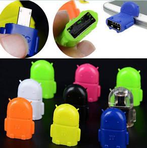 Micro USB OTG адаптер для смартфонов/планшетов (переходник между гаджетом и флешкой), фото 3