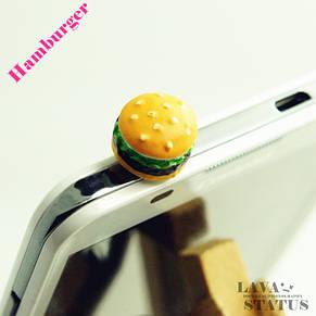 "Заглушки (анти-пыль) для телефона ""Гамбургеры"", фото 3"
