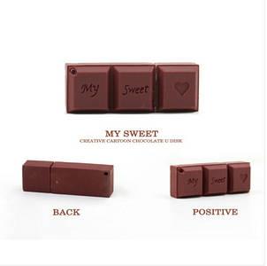 "Флешка ""My sweet LOVE"" (Шоколадка) 16 Гб, фото 2"