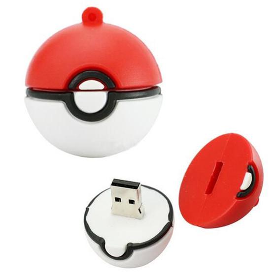 """Флешка-игрушка """"Покебол/Pokeball"""" (из игры Pokemon GO) 16 Гб"""