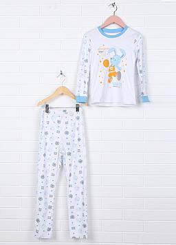 Пижама Zironka 116 белый (GM-1425_White)
